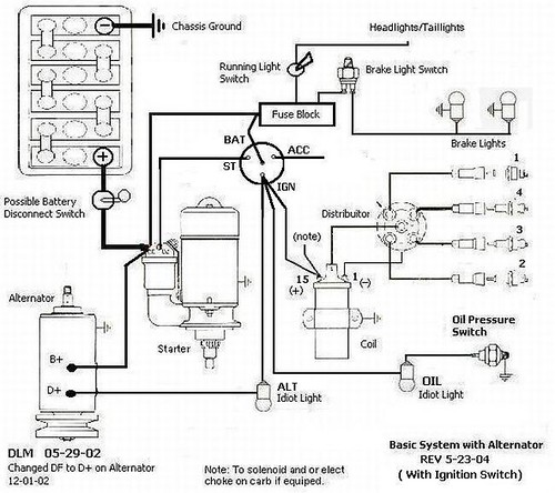 teardrop wiring diagram