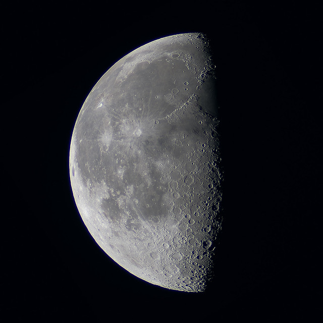 Last Quarter Moon  Flickr  Photo Sharing