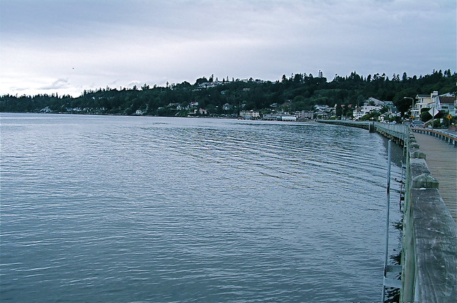 Puget Sound at Redondo Beach Washington  Flickr  Photo