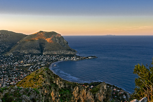The Gulf of Mondello in Palermo, by lorca56 on Flickr