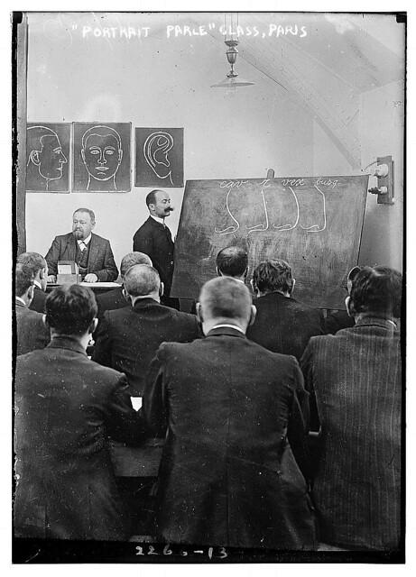 """""""Portrait Parle"""" Class, Paris (LOC)"""