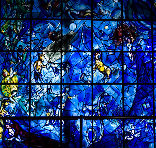 Stained Glass Window By Marc Chagall Flickr Photo Sharing