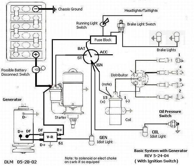 universal fuse block wire diagram