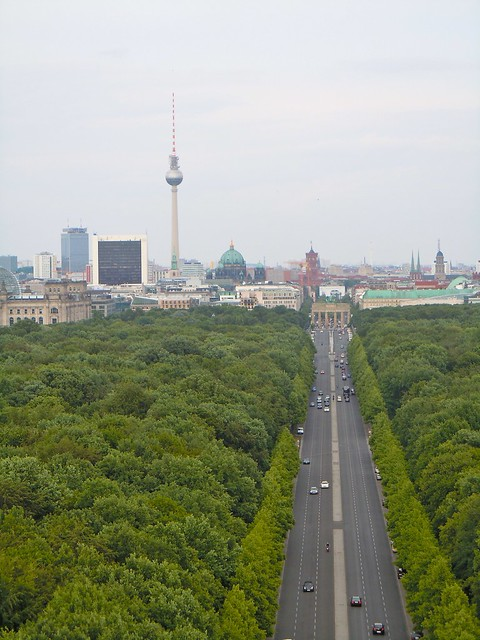 view from the Victory Column