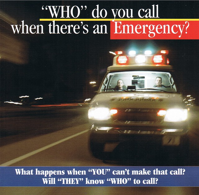 Gods Emergency Contact Numbers, WHO do you call when theres an Emergency?