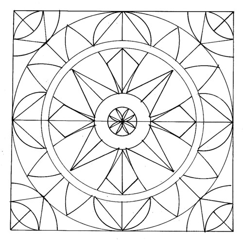 Geometric Pattern Coloring