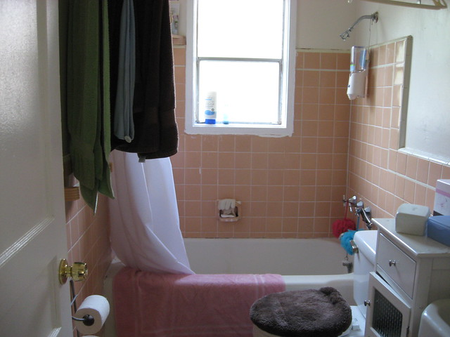 Inside the shower