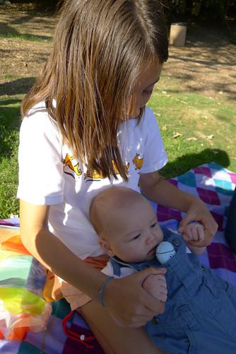 Future babysitter