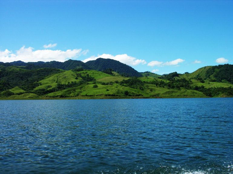 Shoreline of Lake Arenal