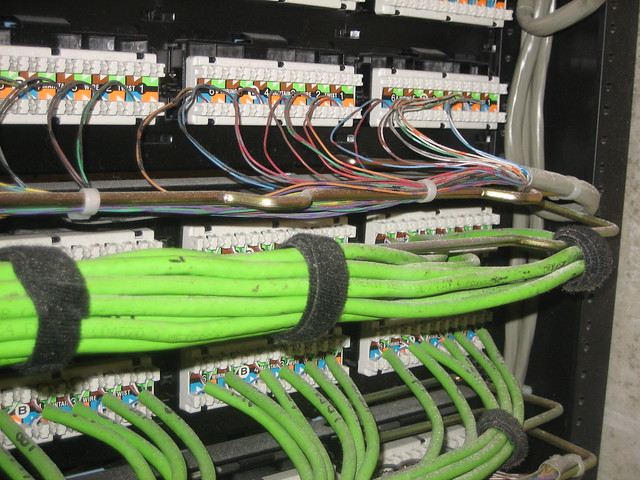 residential wiring diagram rj45 crossover straight and voice patch panel - rear | this is the of a patch… flickr photo sharing!