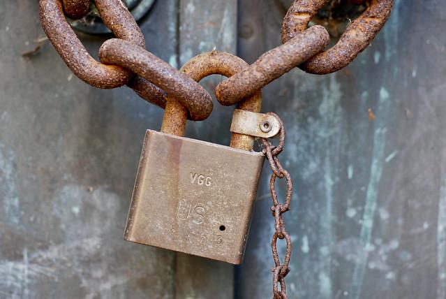 Photo:Lock By:phil dokas