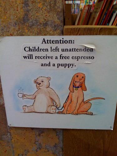 Für unbeaufsichtigte Kinder...