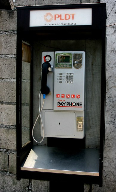 PLDT pay phone