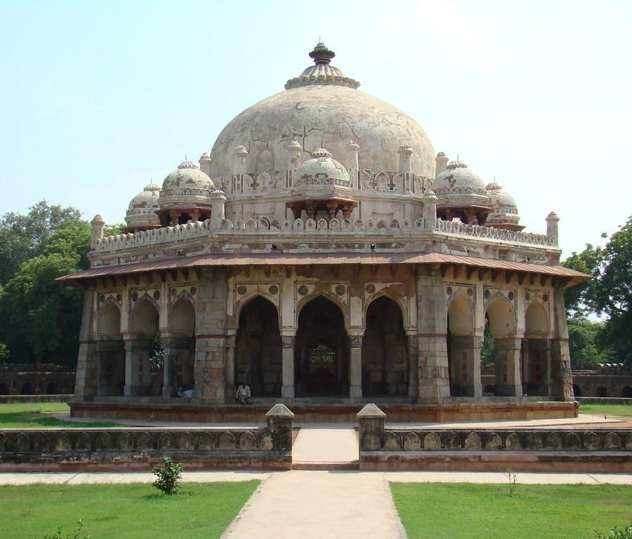 Delhi-Tumba de Isa Khan-India 05