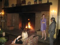 Walk-in fireplace | Flickr - Photo Sharing!