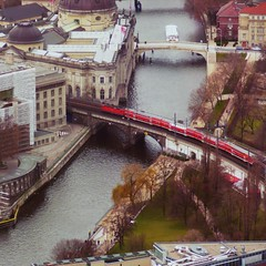 red train to Berlin