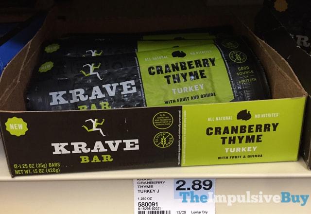 Krave Bar Cranberry Thyme Turkey