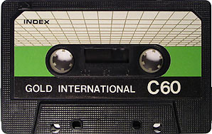 cc: flickr Gold International C60 tape  By kumar303