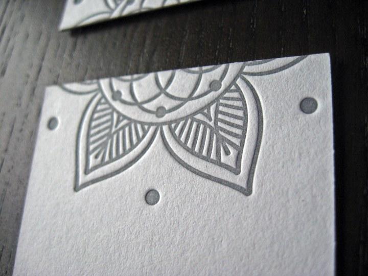 Yin & Tonic Letterpress Cards