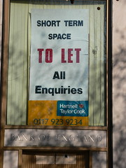 The Bank of England is avilable to rent...