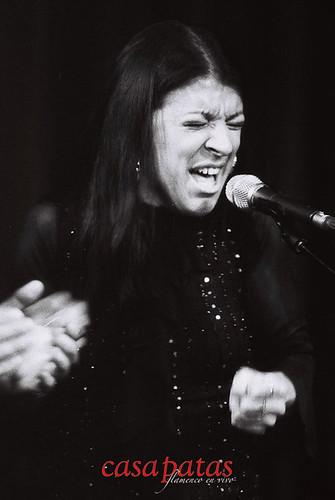 La cantaora Saray Muñoz. Foto: Martín Guerrero