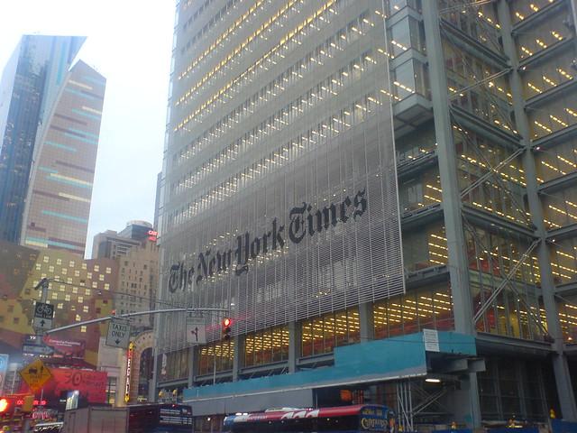 New York Times, New York