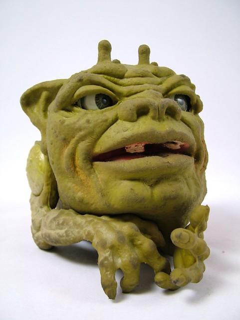 Boglins  Photo of Dwork one of the Mattel Boglins toy