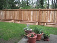 Fence is done and planter boxes! | Flickr - Photo Sharing!
