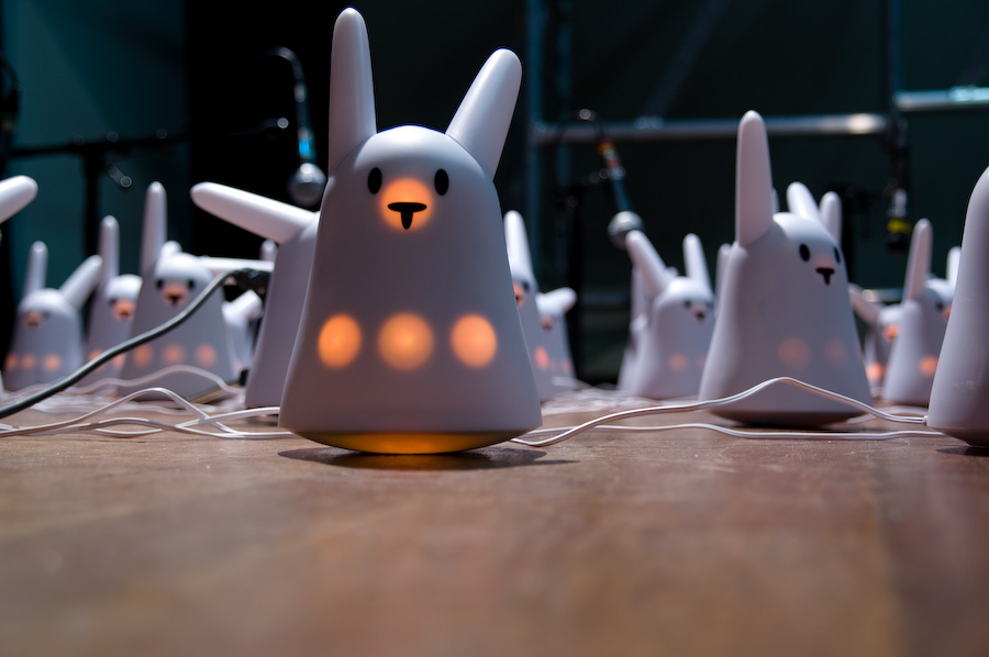 Nabaz'mob – opera for 100 smart rabbits