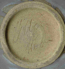 Milton Moon. Altered bowl. Mark