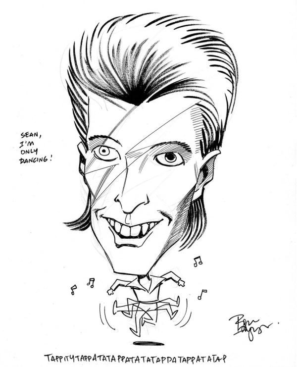 david bowie by roger langridge