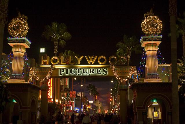 Hollywood Pictures Backlot entrance