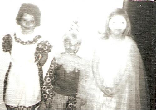 Raggedy Ann, a Clown, and a Princess