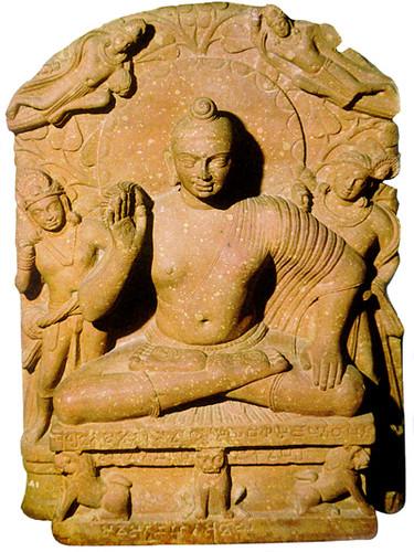 Mathura Buddha Seated Buddha From Mathura India