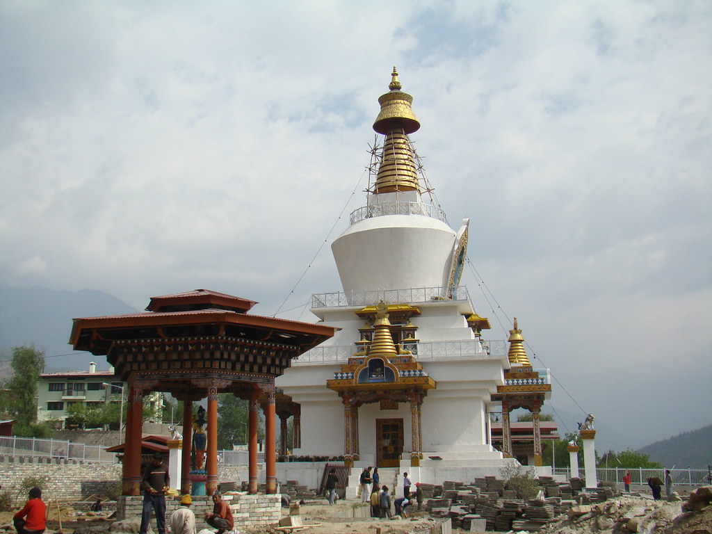 Bhutan-Timbu/Thimphu-Memorial Chorten/Estupa 03