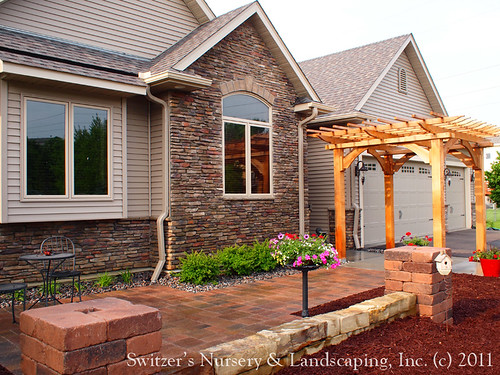 Creating a Grand Sense of Entry with a Cedar Arbor