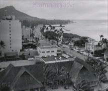 Waikiki Kalakaua Avenue 1956