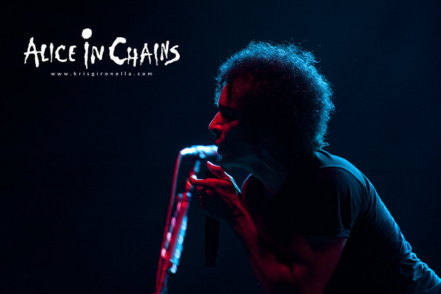 A sensual shot of frontman William DuVall - Singapore Rock Fest 2014