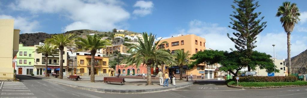 panoramica Vallehermoso Isla de La Gomera 03