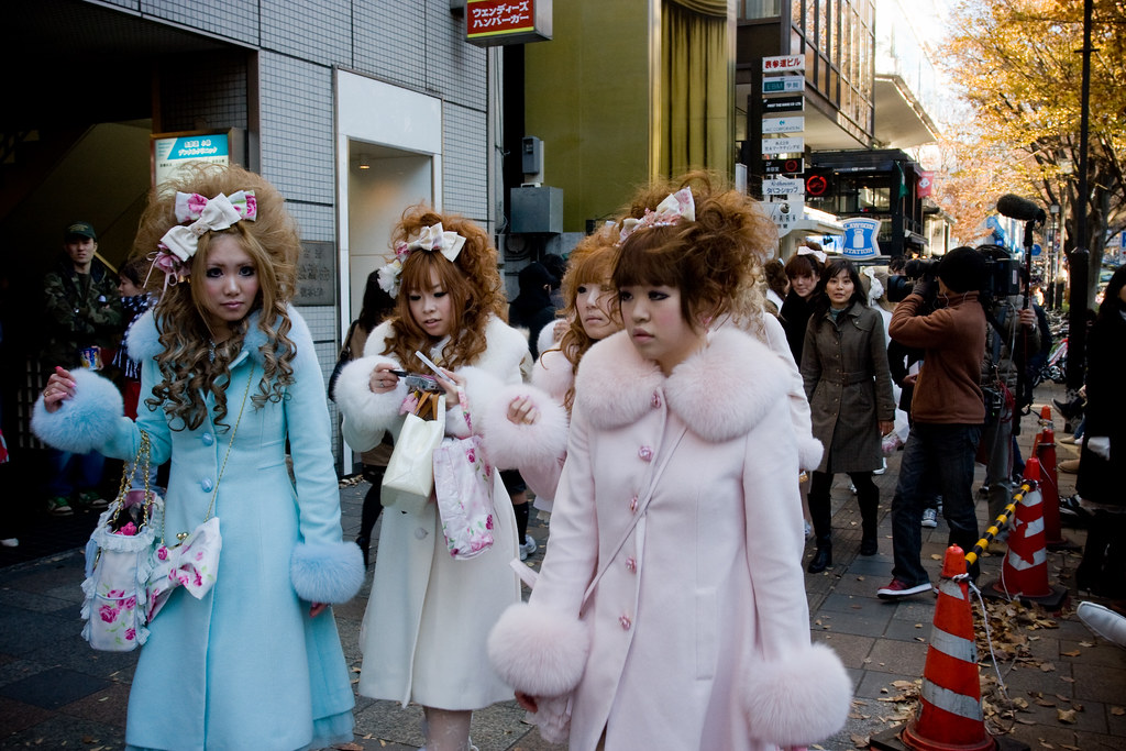 pastel girls in harajuku, 姫ギャル