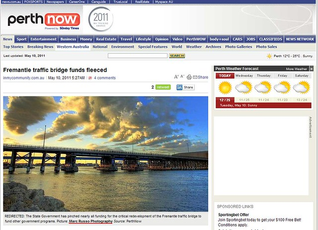 My picture on Perthnow