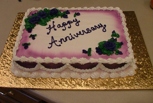 Webster Anniversary Cake