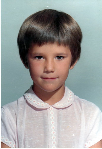 First Grade School Photo 1967