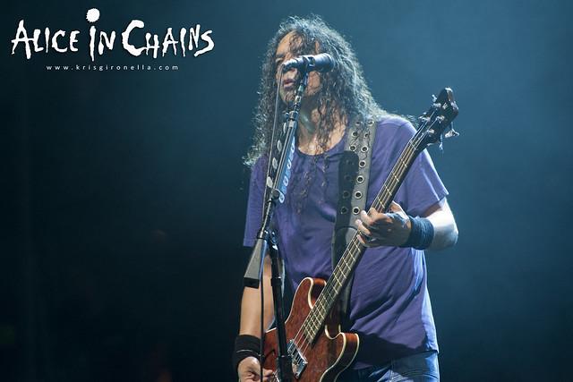 Mike Inez - Singapore Rock Fest 2014