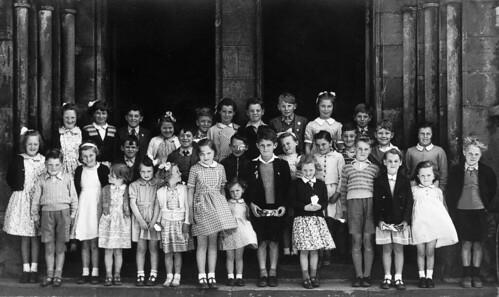 Anstruther Wedding 1950's - Arncroach School