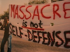 Massacre is NOT SELF-DEFENSE!!