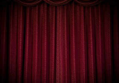 Red Curtains Texture