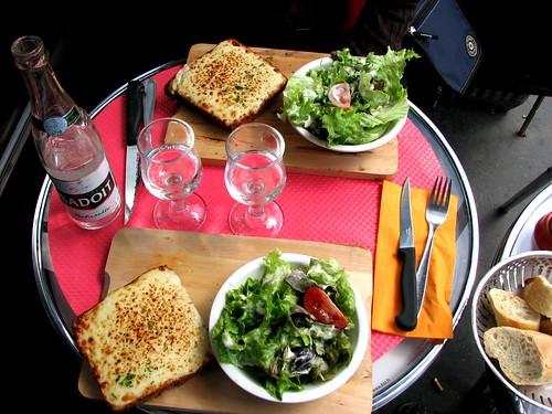 Lunch at a Paris brasserie