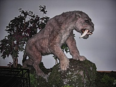 Sabre-toothed Tiger, Horniman Museum, London.