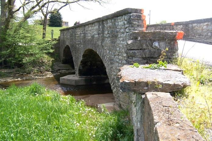 Stone bridge, Michigan Road